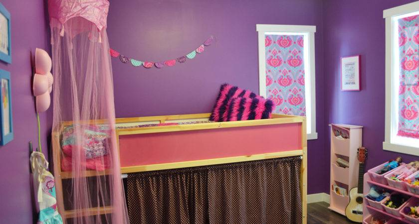 Little Bright Jewel Toned Bedroom Win Custom