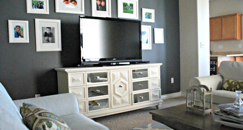Living Room Accent Wall Tjihome