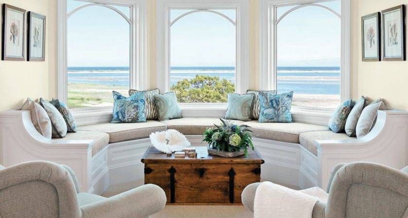 Living Room Bay Window Seat Ideas Home Intuitive