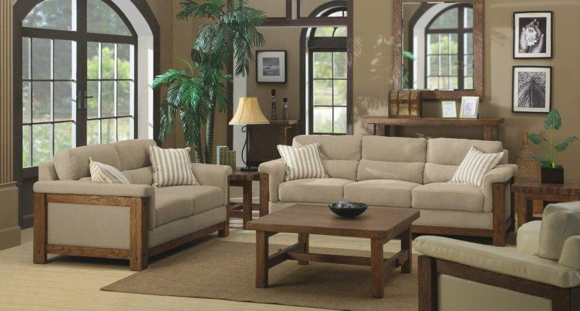 Living Room Beige Color