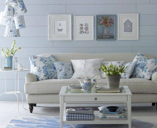 Living Room Blue Ideas Fantastic Theme