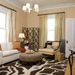 Living Room Captivating Transitional Style