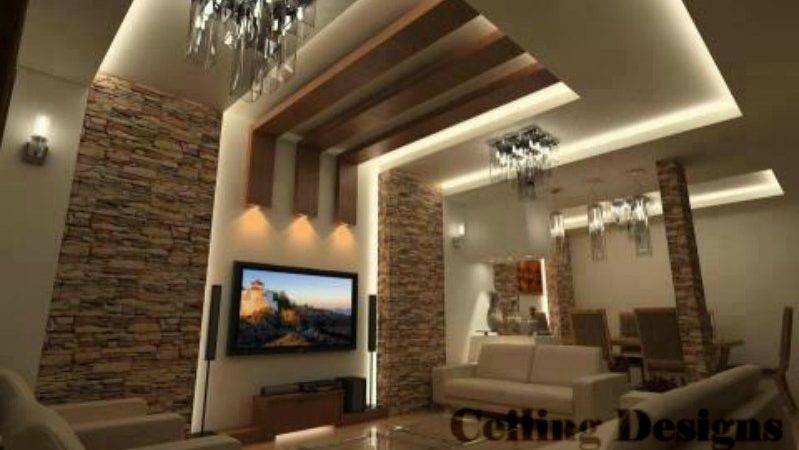 Living Room Ceiling Design Ideas
