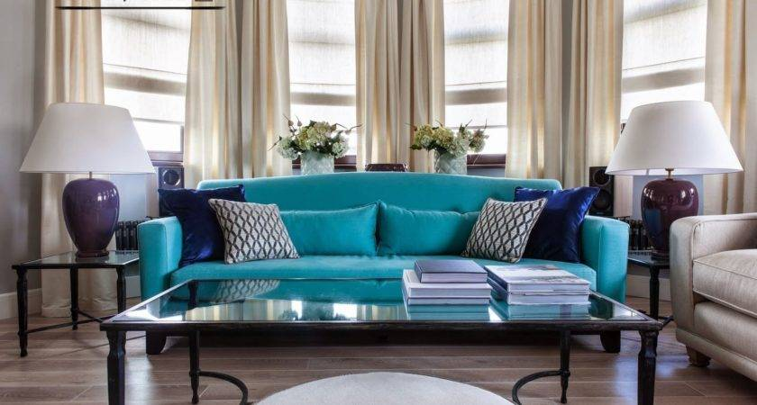 Living Room Chair Turquoise