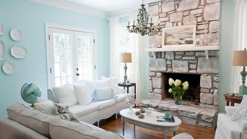 Living Room Coastal Design Ideas Interior