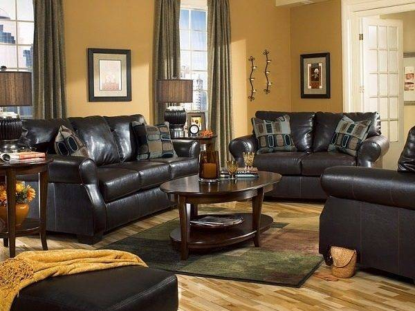 Living Room Color Ideas Black Furniture