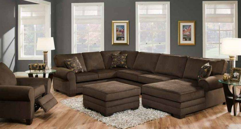 Living Room Color Schemes Dark Brown Furniture