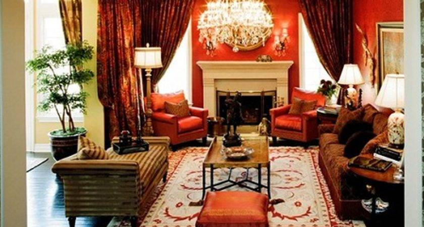 Living Room Country Paint Elegant Traditional Formal