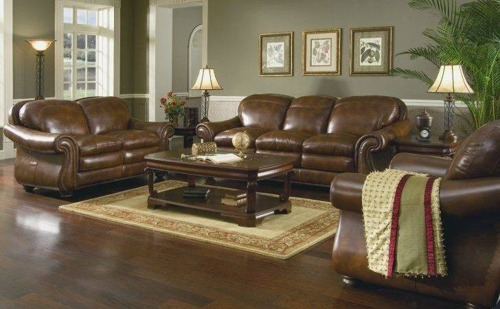 Living Room Cute Colors Brown Couch