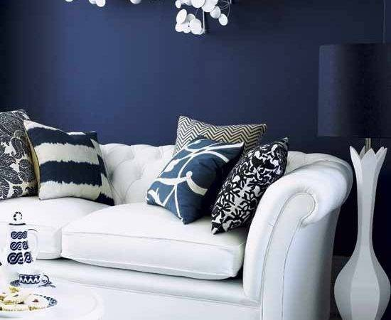 Living Room Dark Feature Wall Rooms Design