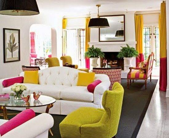 Living Room Decorating Ideas Bright Colors