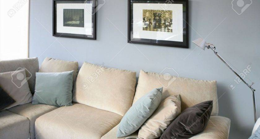 Living Room Decorating Ideas Cream Sofa
