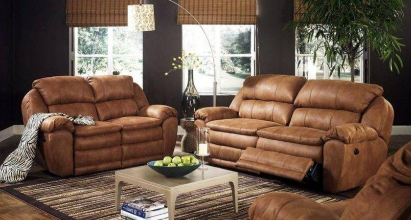 Living Room Decorating Ideas Rustic Brown Leather