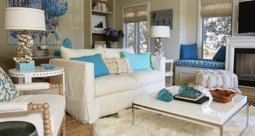 Living Room Decorating Ideas Teal Brown
