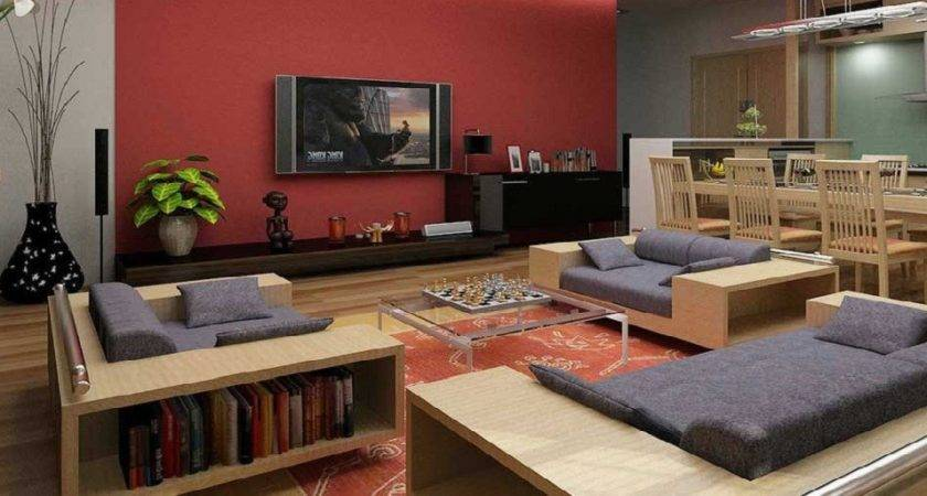 Living Room Decoration Lcd New