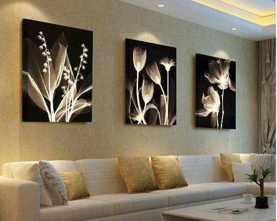 Living Room Decorative Painting Modern Sofa