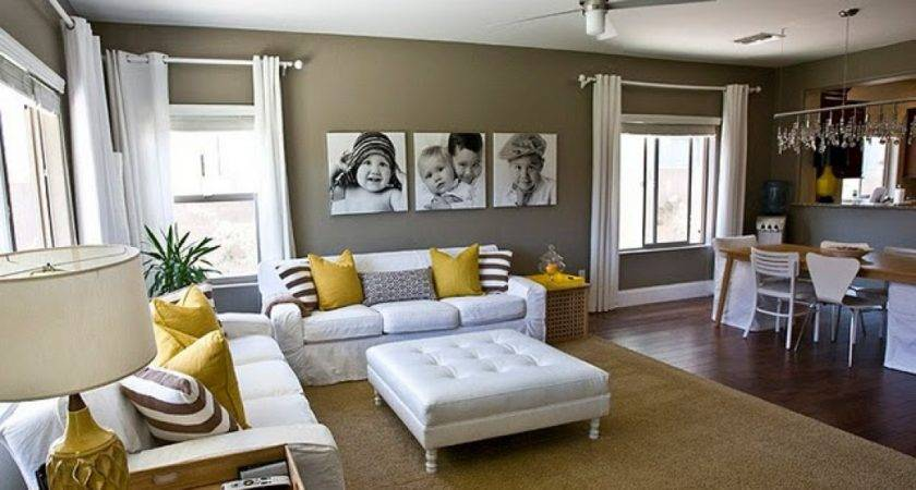 Living Room Dining Combo Decorating Ideas Well