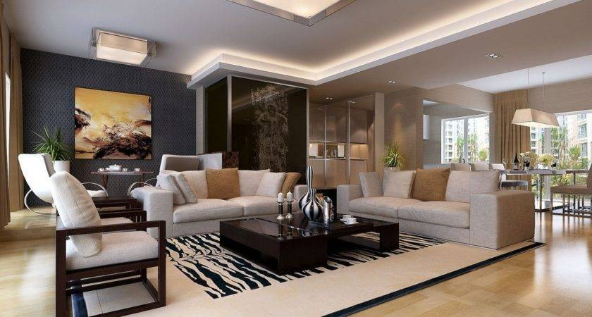 Living Room Dining Interior Design