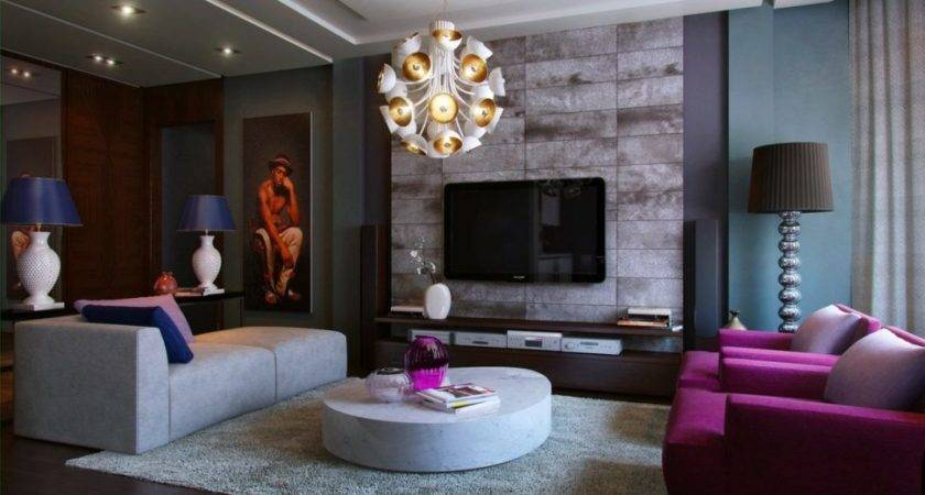 Living Room Gray Purple Livingm Ideas Grab Decorating