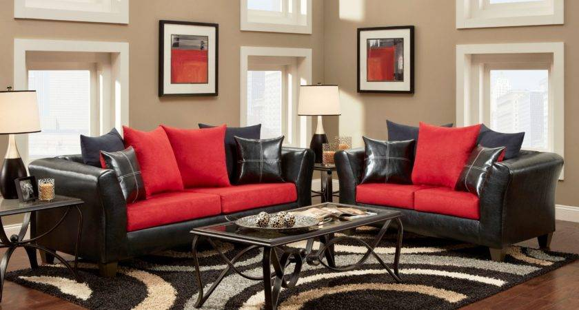 Living Room Gray Red Ideasgray Ideas