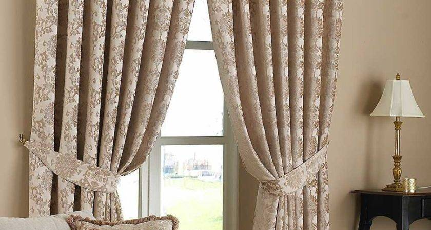 Living Room Handsome Curtain Drapes
