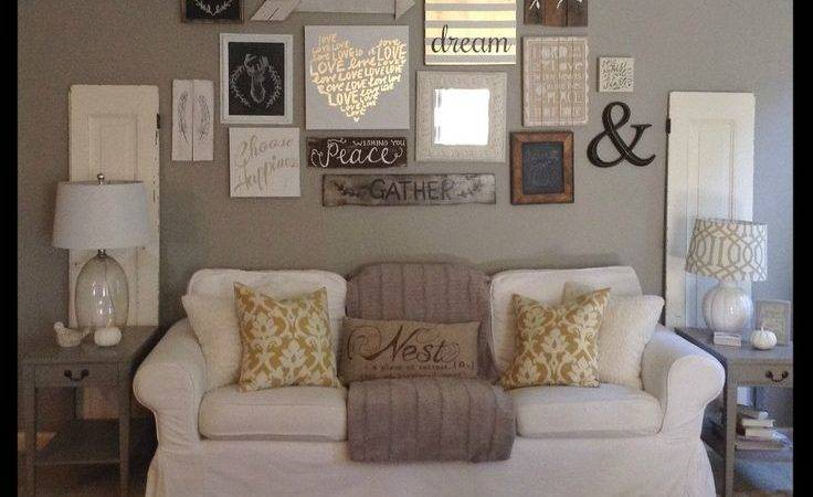 Living Room Ideas Collection Wall