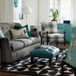 Living Room Ideas Modern Gray Turquoise