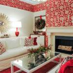 Living Room Ideas Red