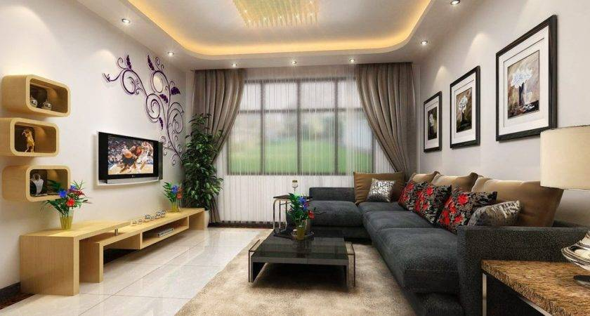 Living Room Interior Decoration Wall House