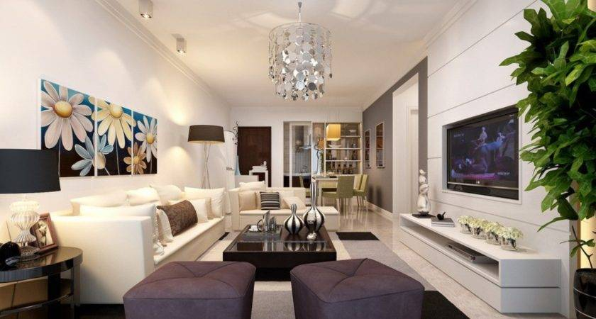 Living Room Interior Lighting Design House