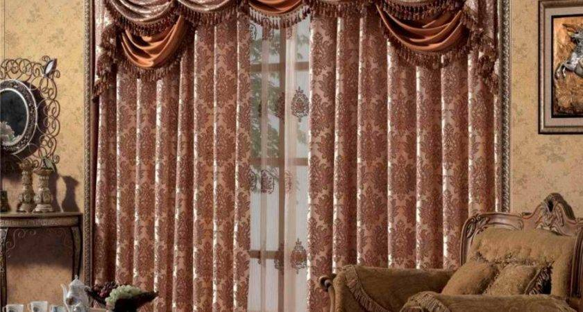 Living Room Latest Curtains Designs