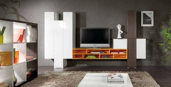 Living Room Lcd Cabinets Shelves Design Ideas