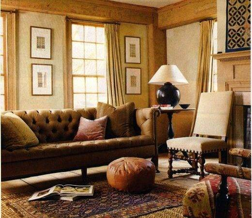 Living Room Make Mine Eclectic