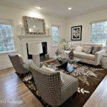 Living Room Mesmerizing Staging
