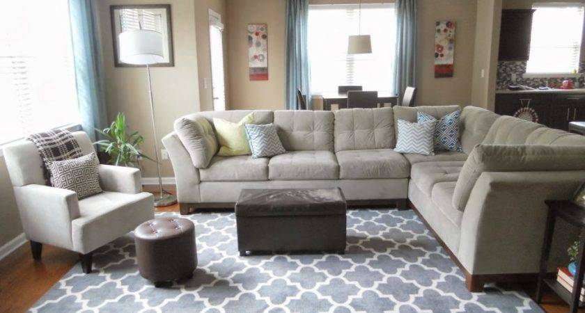 Living Room Modern Armchair Mid Century Area Rugs
