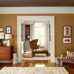 Living Room Orange Warm Paint Colors Rooms