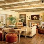 Living Room Stunning Rustic Ideas