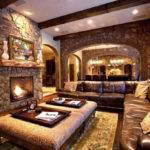 Living Room Tremendous Rustic Ideas Cozy
