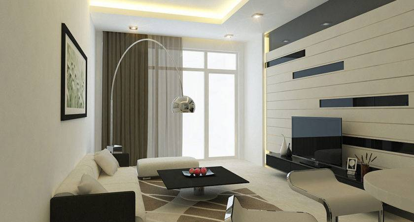Living Room Wall Design Fine Texture Designs