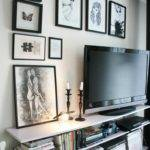 Living Room Wall Ideas Put Under Mounted