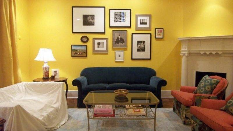 Living Room Yellow Paint Colors