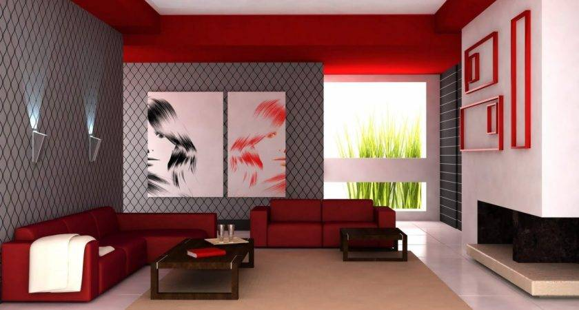 Living Roombine Red Grey Color Schemes Sectional