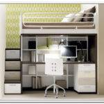 Loft Bed Storage Desk Home Design Ideas