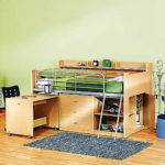 Loft Bed Storage Desk