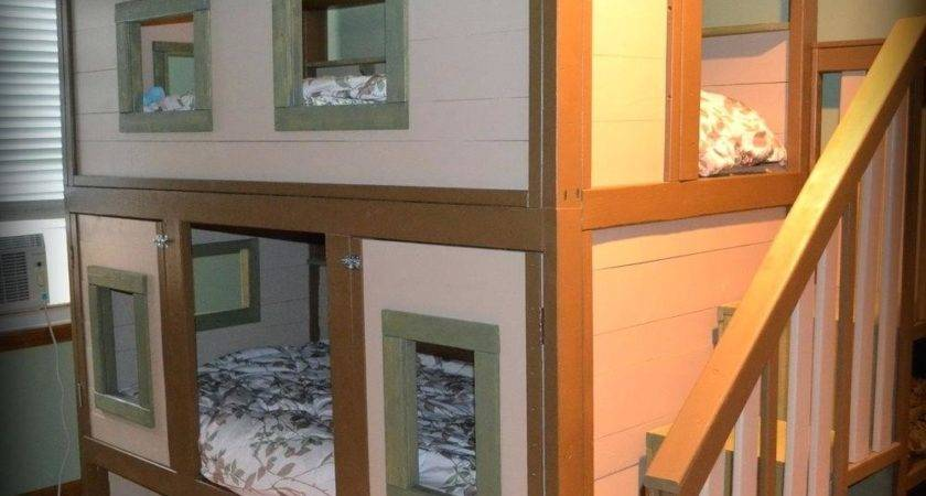 Loft Beds Tree House Bed Display Item