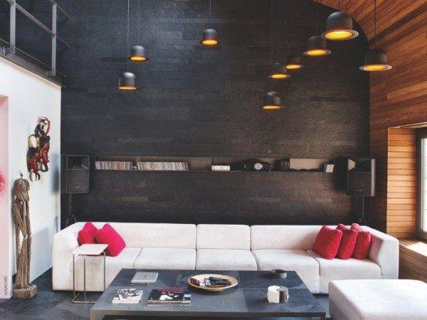 Loft Living Room Interior Design Ideas