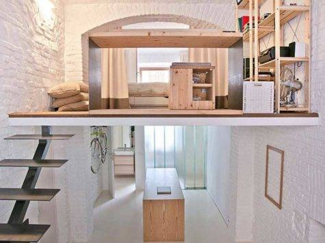 Loft Studio Apartment Design Ideas Home Interior Exterior