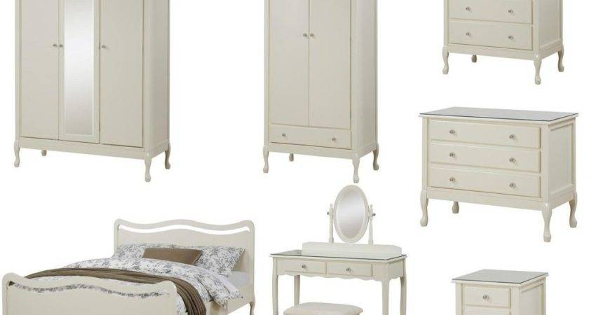 Loire French Shabby Chic Vintage Ivory Bedroom Furniture