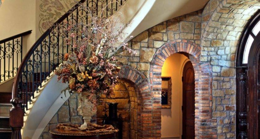 Lomonaco Iron Concepts Home Decor Tuscan Curved Stairway