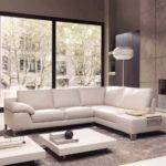 Long White Sofa Interesting Leather Cool Thesofa
